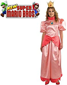 Super Mario Bros. - Princess Peach Adult Costume by Rubies Costumes