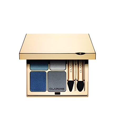 Clarins - Ombre Minérale 4 Couleurs - Eyeshadow -Wet and Dry - Ombretto 5.8g - colore: 04 indigo