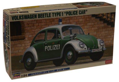1/24 VW beetle type 1 police car