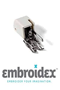 Embroidex Even Feed Walking Foot for Singer Pfaff Viking Sewing Machine (006185008-P) from Embroidex