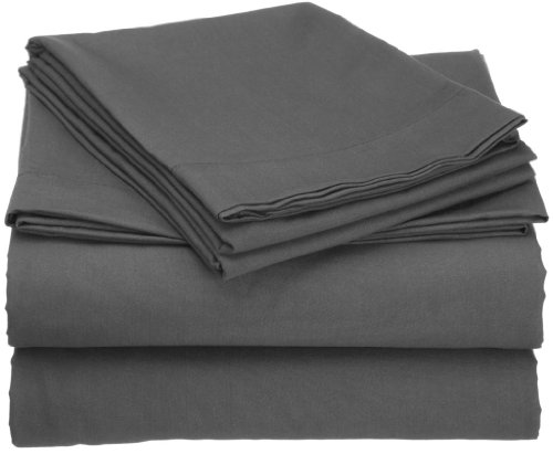 Clara Clark Duvet Cover, King, Charcoal Gray