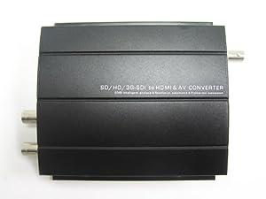 HDVD, 1080p High Quality SD/3G/HD SDI to HDMI/AV Converter & Repeater upto 200M, Input(1xSDI BNC), Output(1xSDI BNC, 1xHDMI, 1xCVBS BNC)