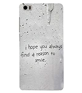 PRINTSWAG QUOTES Designer Back Cover Case for XIAOMI REDMI MI5