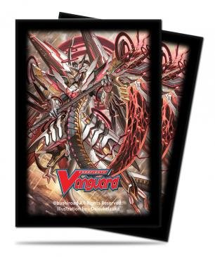 Deck Protectors Chaos Breaker Dragon Star-Vader 55 Sleeves Ultrapro