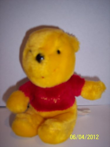 Vintage Sears Plush Pooh Bear 5 Inch - 1