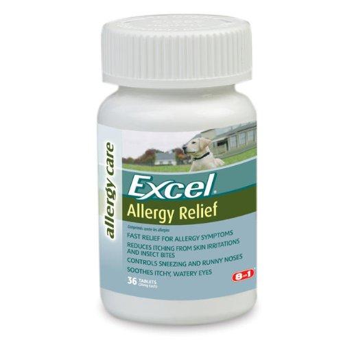 Soulagement des allergies Excel pour les chiens,