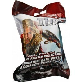 Marvel Heroclix Thor The Dark World 001 Thor Figure with Card - 1
