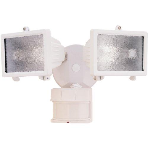 Heath Zenith Hz-5512-Wh Dualbrite 150-Watt Motion Sensing Halogen (White)