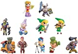 Furuta The Legend Of Zelda Spirit Tracks Mini Figures Set Of 11