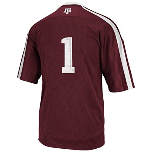 Adidas NCAA Texas A&M Aggies #1 Youth Premier Football Jersey - Maroon - Youth Small