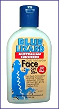 Blue Lizard Austrialian Sunscreen - Face