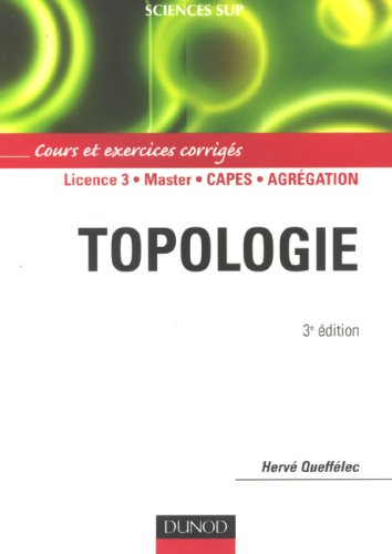 Topologie: Cours et exercices corriges
