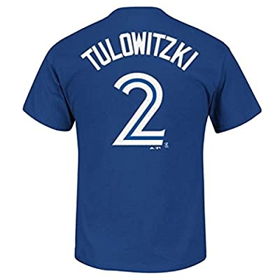 Troy Tulowitzki Toronto Blue Jays #2 MLB Men's Player T-shirt