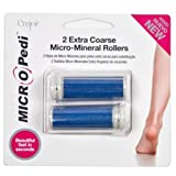 Emjoi Micro-Pedi Extra Coarse Micro-Minerals Blue Replacement Rollers (Set of 2)