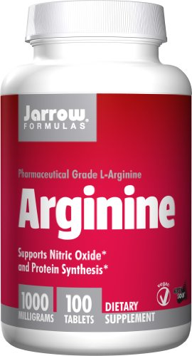 Jarrow Formulas: L-Arginine 1000 Mg, 100 Vcaps