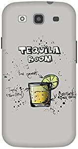 The Racoon Grip Gray Tequila Boom hard plastic printed back case / cover for Samsung Galaxy S3 Neo