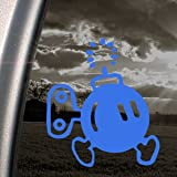 SUPER MARIO Blue Decal BOMB-OMB NES NINTENDO Car Blue Sticker
