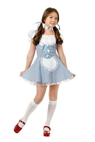 Child Wizard of Oz Dorothy Costume Dress Large 10-12