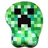 Minecraft マインクラフト Creeper 3D立体 アニメ マウスパッド クリーパー モザイク