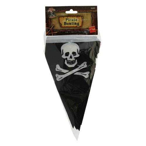 Smiffys Pirate Flag Bunting