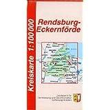 Rendsburg-Eckernförde Kreiskarte 1 : 100 000
