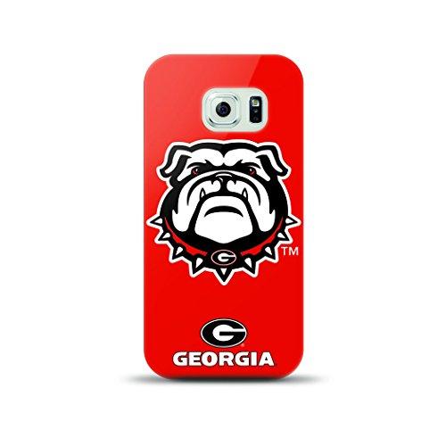Mizco Sports Case Samsung Galaxy S6 Licensed TPU NCAA Georgia Bulldogs Case (Ga Bulldogs Phone Case compare prices)