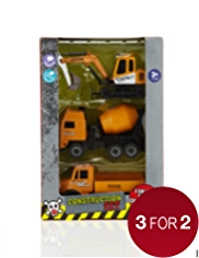 3 Construction Vehicles Set