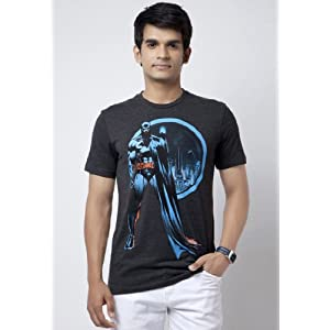 Batman T Shirts Grey | M