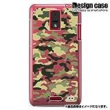 HTC J ISW13HTハード ケース カバー ジャケット/1052_カモフラージュクリア/CR