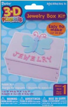 Darice Foamies 3-D Kit - Jewelry Box - 1
