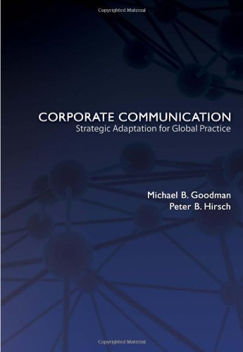 Corporate Communication: Strategic Adaptation for Global...