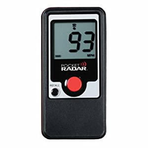 Pocket Radar Personal Speed Radar Gun / Sports Training Tool