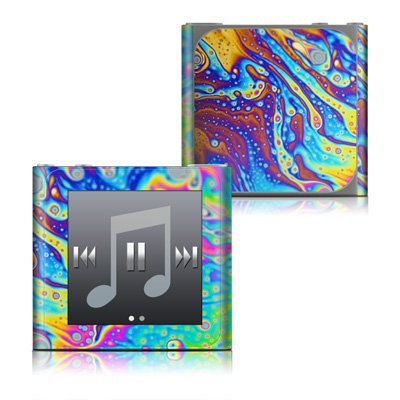 World of Soap Design Protective Decal Skin Sticker for the Apple iPod Nano 6G (6th Generation)