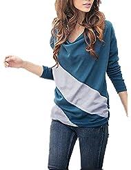 Superfs Women's Batwing Long Sleeve T-shirt Tops Blouses Cotton deal 2015