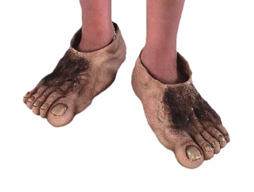 Hobbit Feet Costume Accessory (Kids Hobbit Feet)