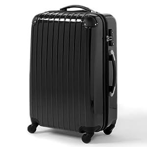 efdc3f803e スーツケース♪◎大型超 軽量 TSAロック キャリーバッグ 軽量 ブラック 01