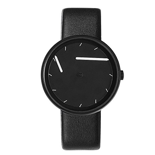 Unisexe watch noir for Miroir noir watch online