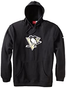 NHL Men's Pittsburgh Penguins Playbook Hood (Black, X-Large)