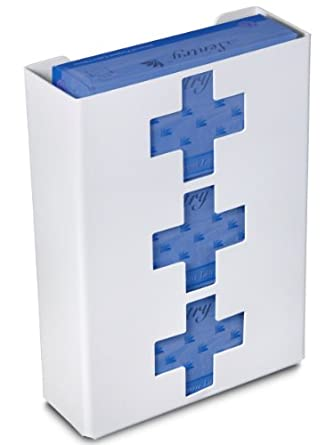 "TrippNT 51049 Priced Right Triple Glove Box Holder with Medical Cross, 11"" Width x 15"" Height x 4"" Depth"