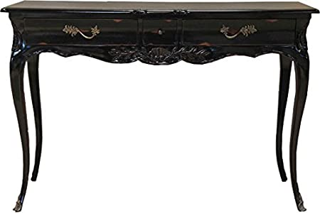 Casa Padrino Baroque Desk Antique Black 120 x 80 x 45 cm - Secretary luxury furniture