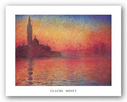 Dusk, 1908 by Claude Monet 14