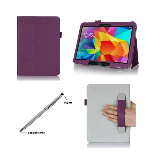 Check Out This ProCase Folio Case with Stand for Samsung Galaxy Tab 4 10.1 Tablet ( 10.1 inch Tab 4,...