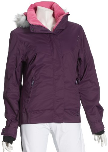 Roxy Damen Snowjacke Perisher Blue, Deep Purple, M, XGWSJ294