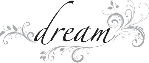 Wall Pops WPQ96852 Peel & Stick Dream Quotes Wall Decals - 1