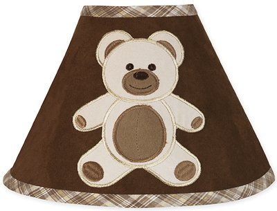 Chocolate Teddy Bear Lamp Shade by Sweet Jojo