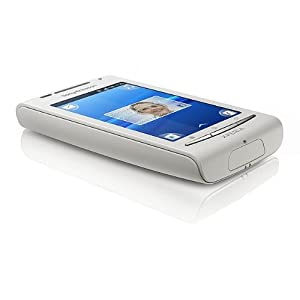 Sony Ericsson XPERIA X8 (E15i) Unlocked GSM Android Smartphone with 3MP Camera, Touchscreen, Wi-Fi, Bluetooth and GPS--International Version with no US Warranty (White)