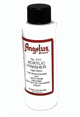 Angelus Brand Acrylic Leather Paint High Gloss Finisher No. 610 – 4oz