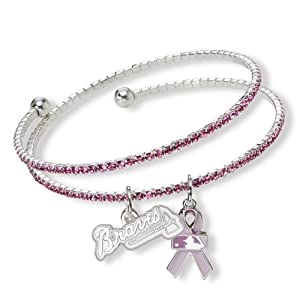 MLB Atlanta Braves 2013 Breast Cancer Awareness Support Bracelet