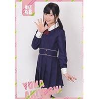 HKT48 公式トレカ 桜、みんなで食べた ポケットスクールカレンダー 【秋吉優花】