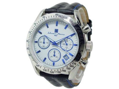 [サルバトーレ・マーラ] SALVATORE MARRA  腕時計 クロノ SM12135S-WHBL メンズ